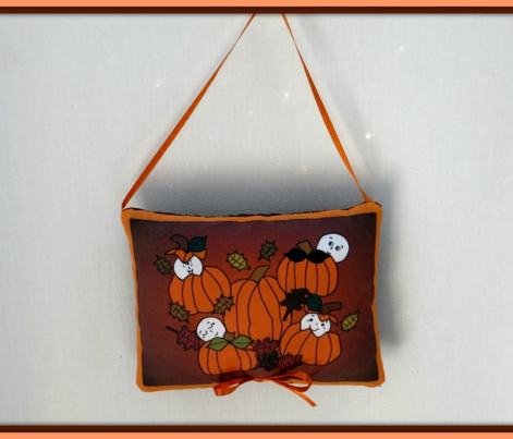 Babies In The Pumpkin Patch Large 2 Fabric With Pumpkins
