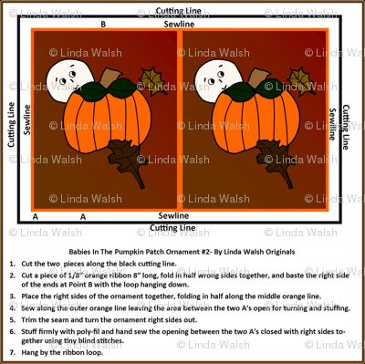 Cut and Sew Pumpkin Ornament2 Favor
