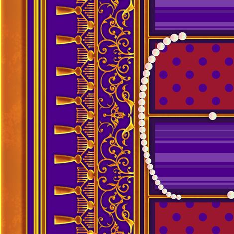 Rococo Coordinate fabric by jadegordon on Spoonflower - custom fabric