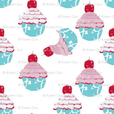 Who at my cupcake