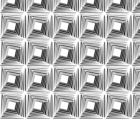 Stacked Black White fabric by blue_jacaranda on Spoonflower - custom fabric