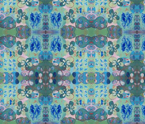 Patti Friday Stash Seaside Garden fabric by pattifriday on Spoonflower - custom fabric