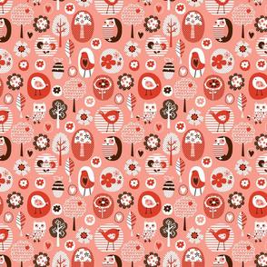 tweety chirp hoot pink 01