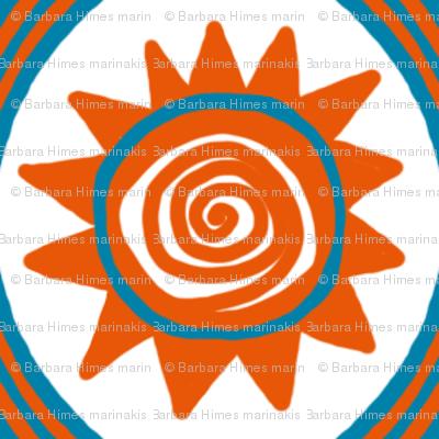 Beach Hat: Sunny