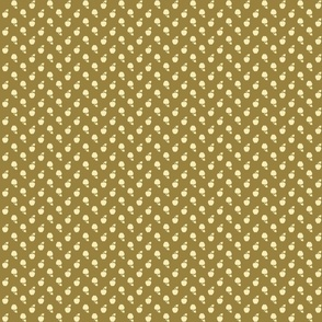 Polka_Apples_Dark_green