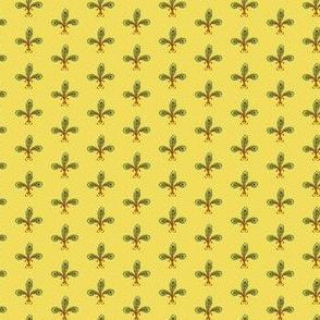 peacock_fleurdelis_2_halfinch_lemonchiffon