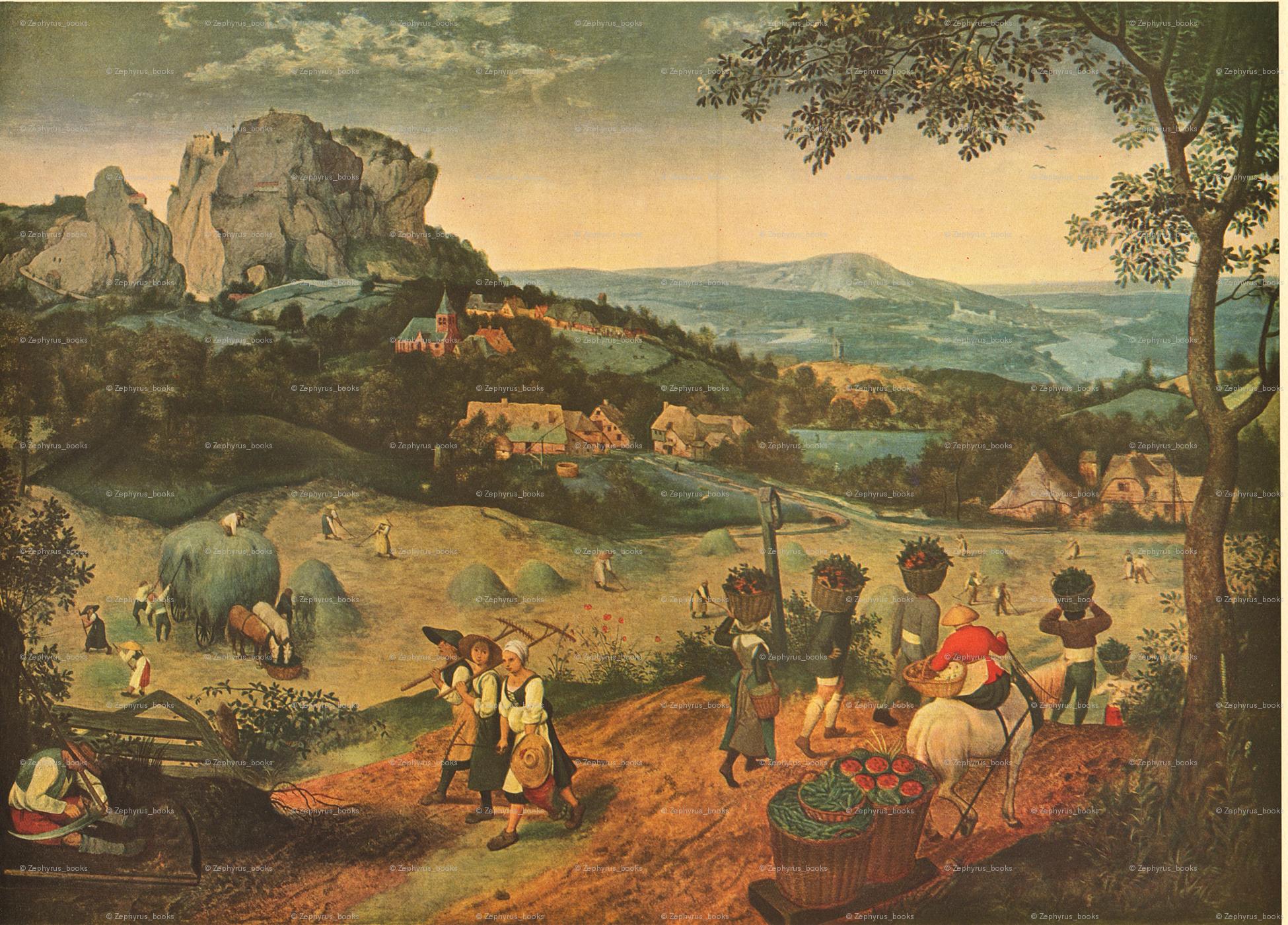 The Hay Harvest 1565 by Pieter Bruegel giftwrap - zephyrus_books ...