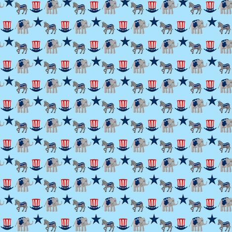 animal_politics 2012 fabric by mejo on Spoonflower - custom fabric