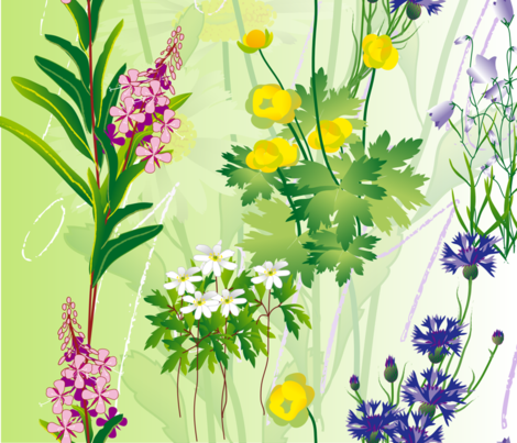 meadow_day fabric by veerapfaffli on Spoonflower - custom fabric