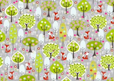Fox Forest Grey