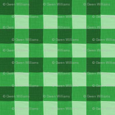 green gingham 2