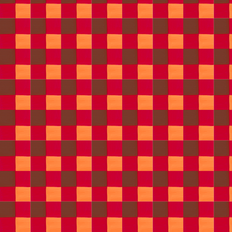autumn colors gingham fabric by mojiarts on Spoonflower - custom fabric