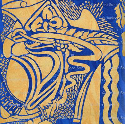 The Blue Doodle
