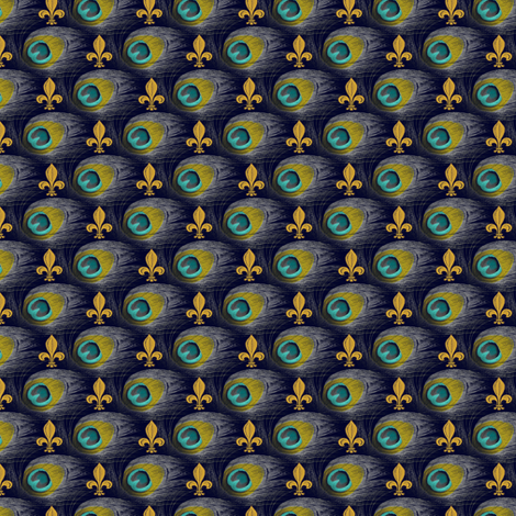 You Are So Vain, You Joined The Royal Navy fabric by peacoquettedesigns on Spoonflower - custom fabric