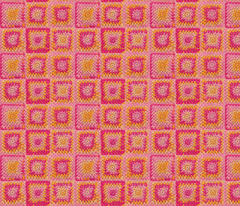 Circle in a Square fabric by nezumiworld on Spoonflower - custom fabric