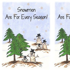 Snowmen Are For Every Season
