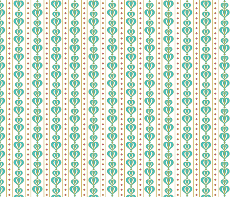 daisytilebluepetals fabric by cindi_g on Spoonflower - custom fabric