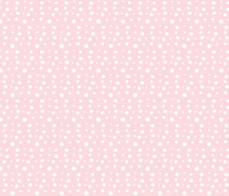 White spot on Pink fabric by evelynrosedesigns on Spoonflower - custom fabric
