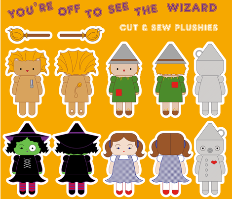 You're Off To See The Wizard fabric by tscho on Spoonflower - custom fabric