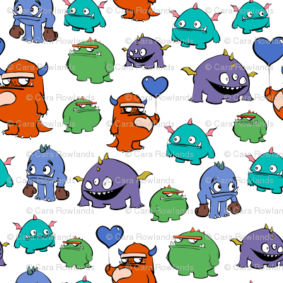 Full colour monsters