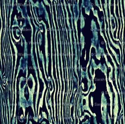 Faux Bois Woodgrain ~ Aquamarine