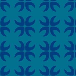 Blue Petal Tile