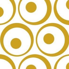 Retro Dots gold