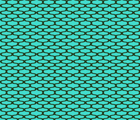 Moroccan_Olive teal_D2 fabric by jensmi on Spoonflower - custom fabric
