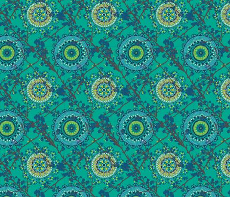 Moroccan Chinese Geometric fabric by angie_mac on Spoonflower - custom fabric