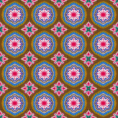 Hansel and Gretyl - Brown fabric by tallulahdahling on Spoonflower - custom fabric