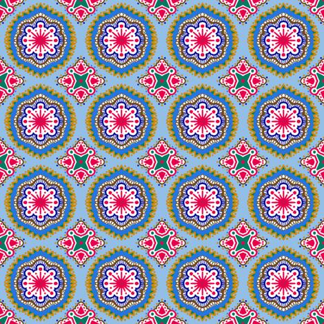 Hansel and Gretyl  - SkyBlue fabric by tallulahdahling on Spoonflower - custom fabric