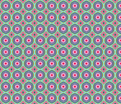 Hansel and Gretyl -Turquoise fabric by tallulahdahling on Spoonflower - custom fabric