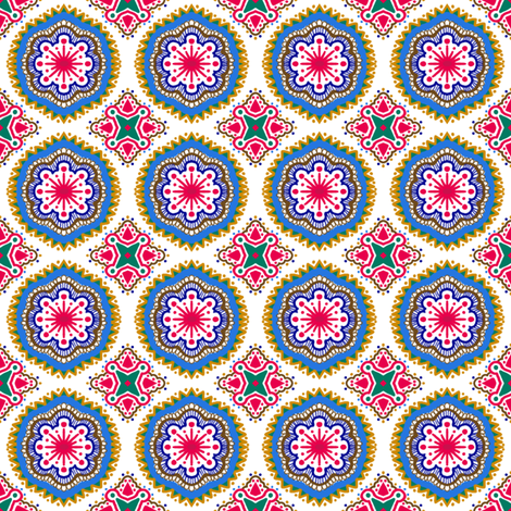Hansel and Gretyl - White fabric by tallulahdahling on Spoonflower - custom fabric