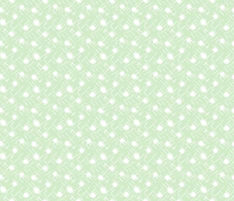 wind blown:dot:D2EBC8 fabric by keweenawchris on Spoonflower - custom fabric