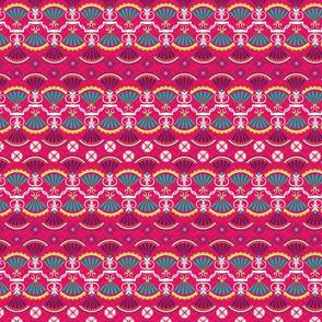 Dec Fashionista- Flora Fantasia Pink