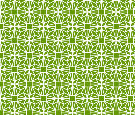 Diamond (green) fabric by pattern_bakery on Spoonflower - custom fabric