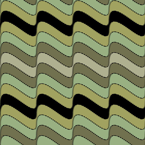 Guinean Bolt fabric by david_kent_collections on Spoonflower - custom fabric