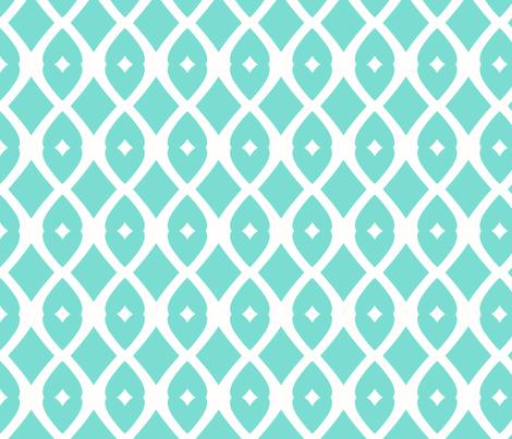 Chain Link 22 (Tropical Sea) fabric by pattyryboltdesigns on Spoonflower - custom fabric