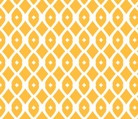 Chain Link 22 (Mango) fabric by pattyryboltdesigns on Spoonflower - custom fabric