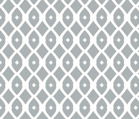 Chain Link 22 (Gull Grey) fabric by pattyryboltdesigns on Spoonflower - custom fabric