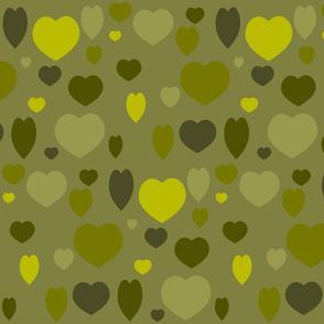 OLIVE HEARTS