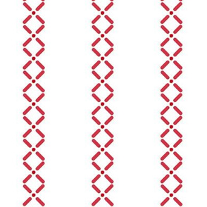 Cross_Dot_Stripe___-red_on_white