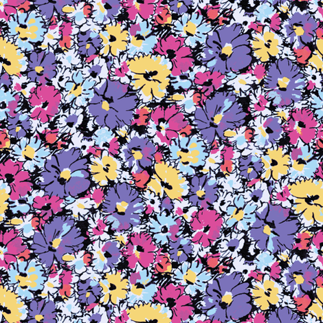 WackyDaisies12 fabric by ashland_house_designs on Spoonflower - custom fabric