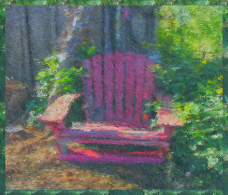 Have a seat. fabric by anniedeb on Spoonflower - custom fabric
