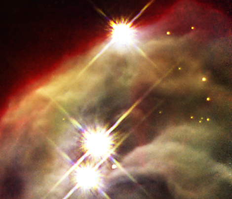 Gas and Star Dust  fabric by datawolf on Spoonflower - custom fabric