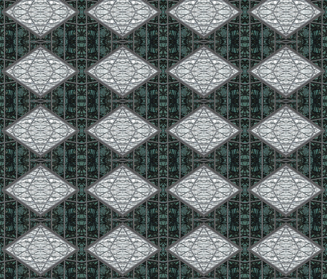 Graffiti Gray Diamond fabric by mikep on Spoonflower - custom fabric