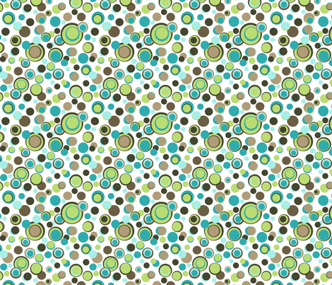 Animal Trails spot fabric by designedtoat on Spoonflower - custom fabric