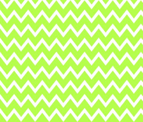 Animal Trails Lime Chevron fabric by designedtoat on Spoonflower - custom fabric