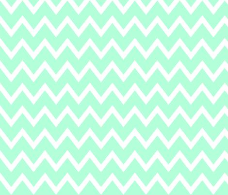 Animal Trails Blue Chevron fabric by designedtoat on Spoonflower - custom fabric