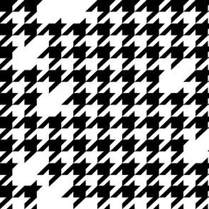 Houndstooth black&white